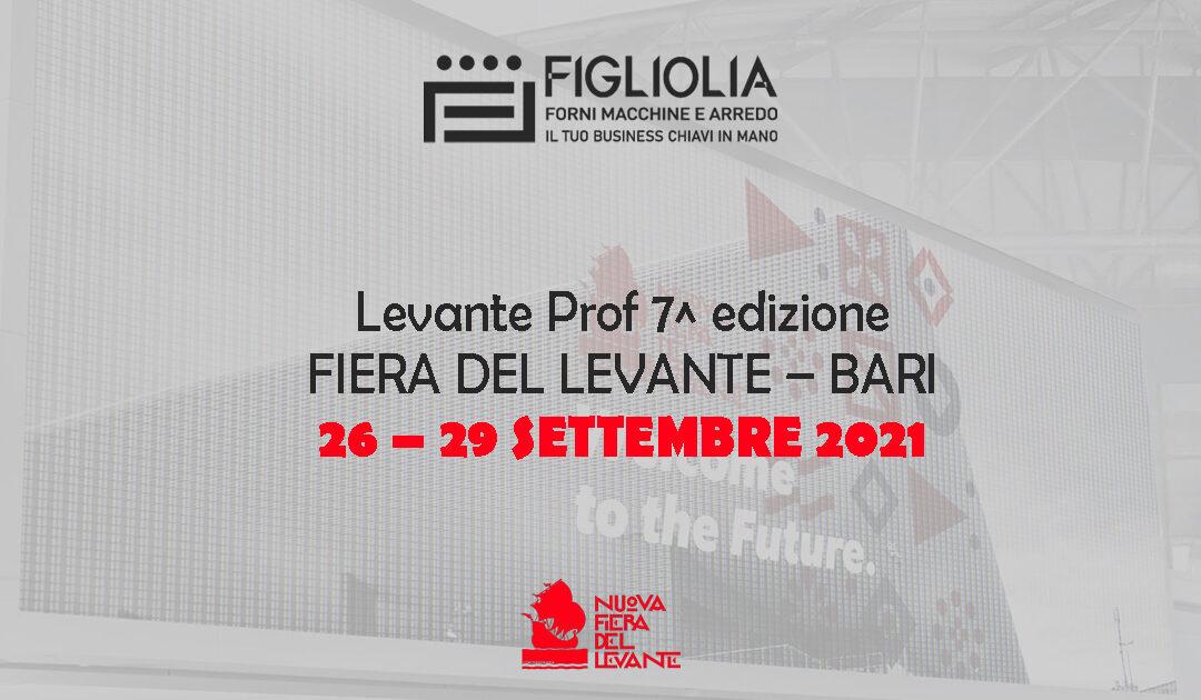 7a edizione LEVANTE PROF – salone internazionale   Fiera del Levante a Bari